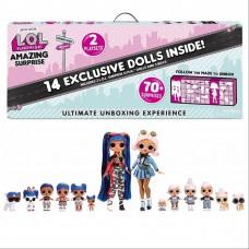 LOL Surprise Amazing Surprise with 14 Dolls ! - Удивительный Сюрприз (92 см)