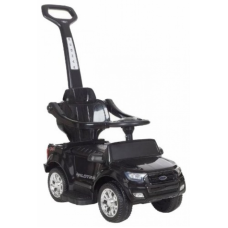 Каталка-электромобиль Barty Ford Ranger DK-P01P черный глянец