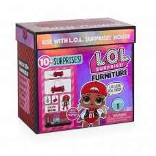 Игровой набор MGA Entertainment LOL Surprise Furniture M.C. Swag, 564096