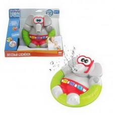 1toy Kidz Delight Игрушка для ванны Весёлый Слонёнок, 25*12*21см, кор.