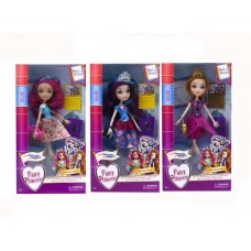 "Кукла ""Kaibibi. Сказочная принцесса: обратно в школу, с аксессуарами, 3 вида в ассортименте, 17,20х6х32 см"