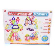 """Конструктор """"Магический магнит"""", не менее 102 деталей, в коробке"""