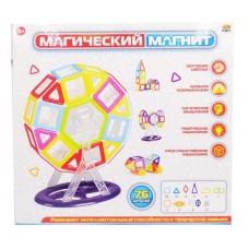 """Конструктор """"Магический магнит"""", не менее 76 предметов, в коробке"""