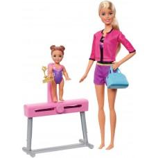 Игровой набор Barbie Барби-гимнастка 3 вида