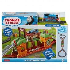 Игровой набор Mattel Thomas & Friends Трек-мастер Железная дорога Мост с переправой