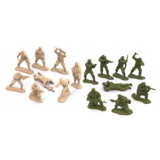 Солдатики 16 шт. в блистере
