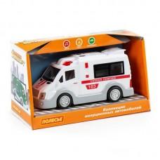 Автомобиль инерционный Скорая помощь (со светом и звуком) (в коробке)