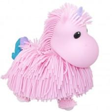 Интерактивная игрушка ABtoys Макаронка Единорожка розовая, музыкальная ходит