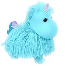 Интерактивная игрушка ABtoys Макаронка Единорожка голубая, музыкальная ходит