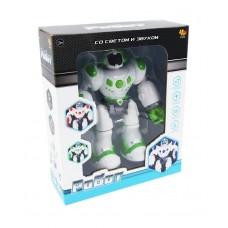 Робот, световые и звуковые эффекты, 3 цвета в ассортименте