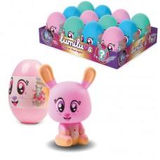 Ночник LUMILUVS Кролик в яйце 3 в ассортименте, 12 шт в дисплее