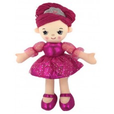 Кукла мягконабиваная, балерина, 30 см, цвет розовый
