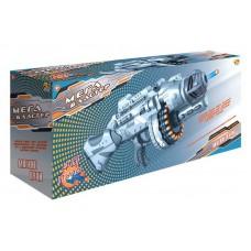 Мегабластер. Бластер стреляющий мягкими снарядами, 40 шт. в комплекте 56,50*14,50*24,50см