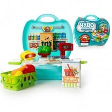 """Набор Овощной магазин """"Чудо-чемоданчик"""", 23 предмета (ABtoys. Чудо-чемоданчик, PT-00461)"""