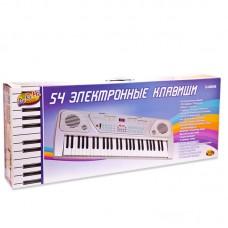 Детский синтезатор (пианино электронное), 54 клавиши, 88см (ABtoys. DoReMi, D-00008пц)