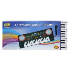 Детский синтезатор (пианино электронное) с микрофоном, 37 клавиш (ABtoys. DoReMi, D-00020(968B)пц)