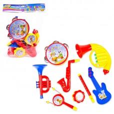 """Набор музыкальных инструментов """"Веселый оркестр"""", 8 предметов (ABtoys. DoReMi, D-00021(899B-5))"""