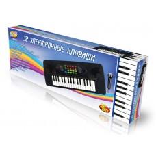 Детский синтезатор (пианино электронное) с микрофоном, 32 клавиш (ABtoys. DoReMi, D-00023(SD979-OK))