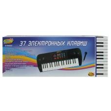 Детский синтезатор (пианино электронное) с дисплеем, 37 клавиш (ABtoys. DoReMi, D-00024(SD981A))