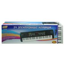Детский синтезатор (пианино электронное) с микрофоном, 54 клавиш, 68,5 см (ABtoys. DoReMi, D-00026(5481))