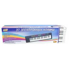 Детский синтезатор (пианино электронное), 37 клавиш, 54 см (ABtoys. DoReMi, D-00035)