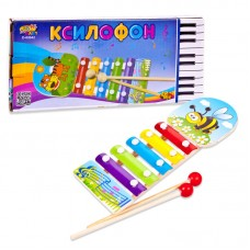 Детский ксилофон, 21см (ABtoys. DoReMi, D-00042)