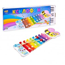 Детский ксилофон, 36см (ABtoys. DoReMi, D-00043)