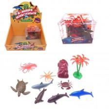 """Фигурки морских животных """"В мире животных"""", в наборе 10 шт. (ABtoys. Фигурки, PT-00596)"""
