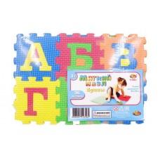"""Коврик-пазл """"Мягкие пазлы"""" Изучаем буквы, 36 предметов (ABtoys. Игры и игрушки для малышей, PT-00823(WZ-8144))"""