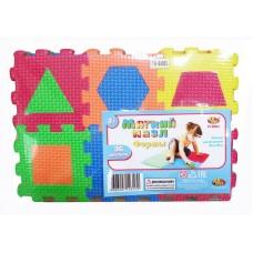 """Коврик-пазл """"Мягкие пазлы"""" Изучаем формы, 36 предметов (ABtoys. Игры и игрушки для малышей, PT-00824(WZ-A1772))"""