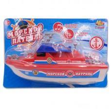 """Катер """"Морской патруль"""", на батарейках (ABtoys. Игрушки для мальчиков, C-00208(WB-A5983))"""