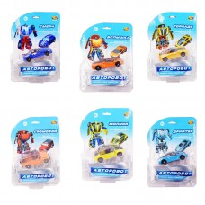 Робот трансформер, 6 видов (ABtoys. Игрушки для мальчиков, C-00220)
