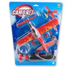 Самолет пенопластовый эл/мех с пусковым устройством, на блистере (ABtoys. Игрушки для мальчиков, PT-00226)