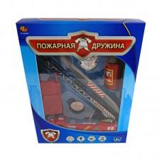 """Машина """"Пожарная дружина"""", со световыми и звуковыми эффектами, на батарейках (ABtoys. Игрушки для мальчиков, PT-00348)"""