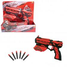 Мегабластер, в наборе с 6 мягкими снарядами (ABtoys. Игрушки для мальчиков, PT-00810)