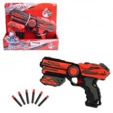 Мегабластер, в наборе с 6 мягкими снарядами (ABtoys. Игрушки для мальчиков, PT-00811)
