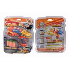 Космобластер (желтый), в наборе с 6 мягкими снарядами (ABtoys. Игрушки для мальчиков, S-00067/S-00076/WG-A3976)