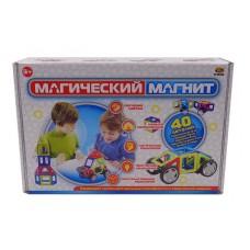 """Конструктор """"Магический магнит"""" , 40 деталей (ABtoys. Конструкторы, PT-00748)"""