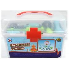 """Набор доктора """"Маленький доктор"""", 13 предметов, в чемодане (ABtoys. Маленький доктор, PT-00495(WK-B7971))"""