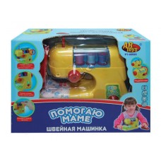 """Швейная машинка """"Помогаю Маме"""", в наборе с аксессуарами, на батарейках (ABtoys. Помогаю Маме, PT-00095(08001))"""