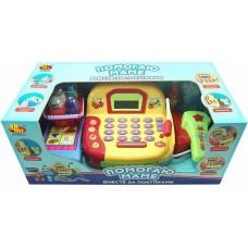 """Касса """"Помогаю Маме"""", в наборе с продуктами, 22 предмета, на батарейках (ABtoys. Помогаю Маме, PT-00145(LF996C))"""