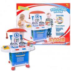 """Кухня """"Помогаю Маме"""", в наборе с аксессуарами, на батарейках, 12 предметов, с эффектами (ABtoys. Помогаю Маме, PT-00198)"""