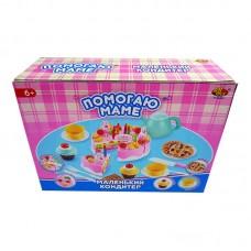 """Торт в наборе с аксессуарами """"Помогаю Маме"""", 54 предмета (ABtoys. Помогаю Маме, PT-00278)"""