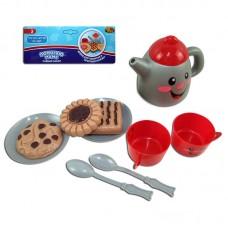 Помогаю Маме. Набор посуды для чаепития, 10 предметов, в пакете (ABtoys. Помогаю Маме, PT-00317)