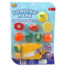 "Набор овощей ""Помогаю Маме"", для резки на липучках, 14 предметов (ABtoys. Помогаю Маме, PT-00412(PT-00062/PT-00063))"