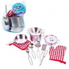 """Набор посуды металлической для кухни """"Помогаю Маме"""" (ABtoys. Помогаю Маме, PT-00482)"""