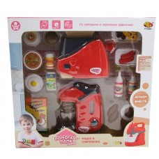 """Кухонная техника с продуктами """"Помогаю Маме"""", с аксессуарами, с эффектами, на батарейках (ABtoys. Помогаю Маме, PT-00661(WK-C0295))"""