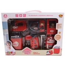 """Кухонная техника """"Помогаю Маме"""", в наборе с аксессуарами, на батарейках, с эффектами (ABtoys. Помогаю Маме, PT-00664(WK-C0308))"""
