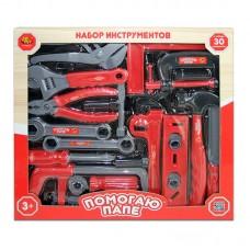 """Набор инструментов """"Помогаю Папе"""", 30 предметов (ABtoys. Помогаю Папе, PT-00271)"""