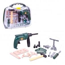 """Набор инструментов в чемодане """"Помогаю Папе"""", 22 предмета (ABtoys. Помогаю Папе, PT-00566)"""